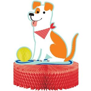 Dog Puppy Puppies Birthday Party Celebration Tableware, Decorations & Balloons