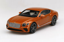 TOP SPEED TS0222 1/18 BENTLEY NEW CONTINENTAL GT ORANGE FLAME (RESIN)