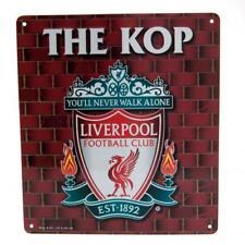 LIverpool Football Club LFC The KOP Logo Crest Fan Wall Sign Official Sports