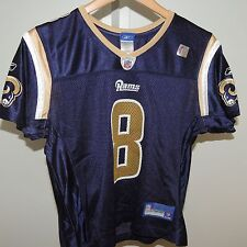 NFL RBK St Louis Rams #8 Football Jersey New Womens LARGE