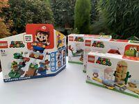 LEGO Super Mario Starter Course 71360 + 71363 71365 71367 Expansion Set Bundle