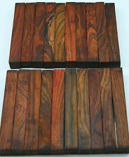 "20 Cocobolo Pen Blanks 5/8""x5/8""x5"" Exotic Wood Free Shipping C-253"