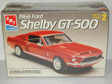 AMT 1968 Ford Mustang Shelby GT-500 Model Kit ~ Fastback