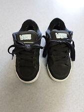VANS black suede skateboard shoes. Women's 6 (eur 36)