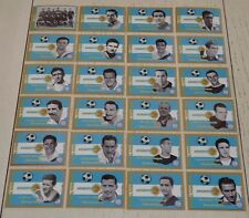 ARGENTINE COMPLETE ARGENTINA COUPE MONDE FOOTBALL 1958 STYLE PANINI