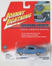 JOHNNY LIGHTNING R4 AMERICAN CHROME 1957 LINCOLN PREMIERE Blue