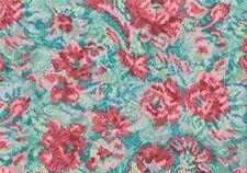 8 Yds Designer Fabric Fortuni Salmon Green Indoor/Outdoor  Drapery Upholstery