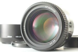 【 Exc+5 w/ Hood 】 Nikon AF Nikkor 85mm f/1.8 Portrait Prime Lens From Japan #428