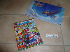 GAME MASTER 1/12 Magazin ZELDA SKYWARD SWORD & Super Mario 3D Land POSTER N-Zone