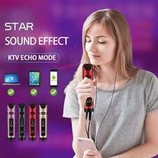 Top Transmisión En Vivo Video Micrófono Teléfono Móvil Computadora Condensador