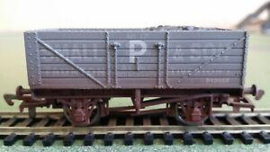 "Dapol BR ex-PO wagon ""Small & Son"" oversprayed P12957, Ltd Edn of 34 - Poor Box"