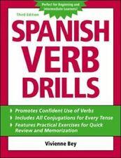 Spanish Verb Drills Bey, Vivienne Paperback