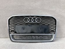 AUDI A6 S6 RS6 2012-2014 FRONT BUMPER GRILL FRONT GRILL RS STYLE [13RS6 LOGO]