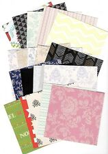 20 x A6 BACKING PAPERS  IDEAL FOR CARD MAKING AND SCRAPBOOKING *free p&p*