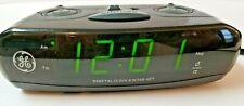 General Electric Ge Model 7-4837C Am/Fm Alarm Clock Radio - Tested & Works