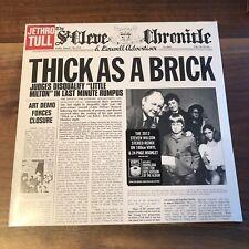 Jethro Tull - Thick As A Brick Vinyl LP Black 180 Gram Sealed New