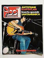 RARE CIAO 2001 30-1974 BOB DYLAN-BENNATO-KRISTOFFERSON-SANTAMONICA ROCK FESTIVAL