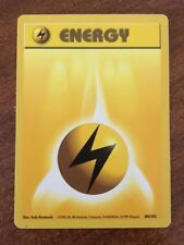 Pokemon YELLOW Energy Card 100/102