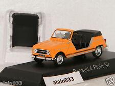 RENAULT 4L Plein Air 1968 Orange NOREV 1/43 Ref 510044