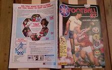 PANINI DE FOOTBALL 87 1987 VIGNETTE album complètement vide très rare