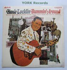 "HANK LOCKLIN-bummin ""autour de-Excellent ARNAQUE LP Disques RCA CAMDEN CDS 1047"