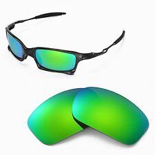 New WL Polarized Emeraldine Replacement Lenses For Oakley X-Squared Sunglasses