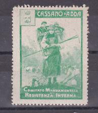 * WWI - Erinnofilo - Comitato di Resistenza Interna - Cassano d'Adda (1)