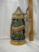 Vintage German Beir Stein made in West Germany