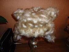 Ragazze Marks e Spencer PELLICCIA Animal Print Cappello, - 6-18 usi, BNWT