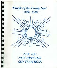 *ST PETERSBURG FL *TEMPLE OF THE LIVING GOD COOK BOOK *FLORIDA CHURCH *RECIPES