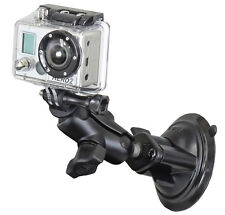 Ram Suction Cup Mount for GoPro, Virb, Sjcam, Other Action Cameras