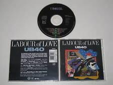 UB40/TRAVAIL OF LOVE (VIRGIN 86412 2) CD ALBUM