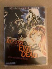 Return of the Evil Dead (Dvd, 1973)