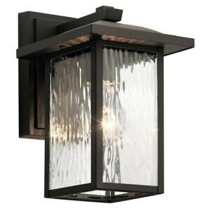"Kichler Lighting Capanna Olde Bronze 49924OZ, 10"" (small), single-bulb, outdoor"