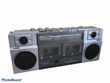 Contec 8822A 2 Band Stereo Double Cassette Recorder BoomBox Ghetto Blaster Radio