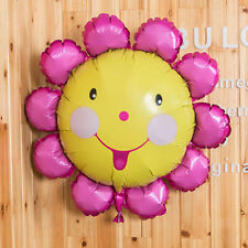 New Sun flower Foil Balloon Helium Balloons Sunflower Wedding party Decoration​