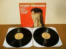 STONE et CHARDEN : SELF TITLED - VERY RARE Double LP 1975 on DISCODIS RECORDS