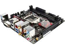 ASUS ROG B150I PRO GAMING/WIFI/AURA LGA 1151 Intel B150 HDMI SATA 6Gb/s USB 3.0