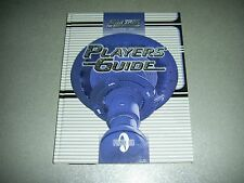 Star Trek Next Generation TNG Players' Guide HC aid roleplaying game rpg