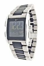 Nike WC0068 502 Mens Training Titanium Torque Sports Chronograph Fitness Watch