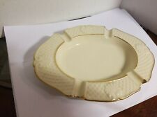 LENOX USA ashtray with gold trim