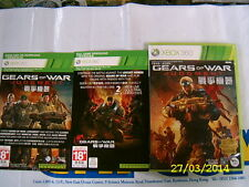 XBOX360 GAME GEARS OF WAR JUDGMENT (ORIGINAL USED)