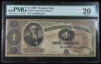 1890 $1 Treasury Note VF20 PMG