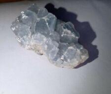 Pale Blue Fluorite Crystal