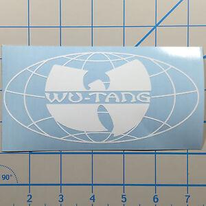 "Wu Tang Forever 6"" White Vinyl Decal Sticker"