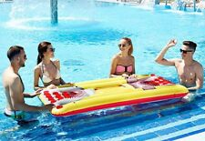 Beer Pong Pool Float Inflatable Floating Table w/ Cooler Fun Accessories Game