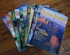 2007 Complete Year Lot Of 12 Arizona Highways Magazines