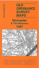 Worcester and The Malverns 1897: One Inch Sheet 199 by Malcolm Nixon (Sheet map, folded, 2006)
