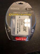 Bower XPDCE8 Battery for Canon LP-E8 Digital Camera T3I 600D T4I 650D T5I 700D