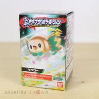 Pokemon HISSATSU! KIMEWAZA POKEMOTION #2 Rowlet Mini Figure Japan